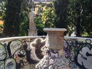 Monumental dialogues, Villa Aldobrandini, July 2013