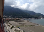 View, from the Hotel Stabia