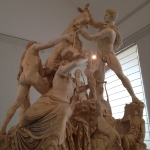 Farnese Bull — spot the cracks...
