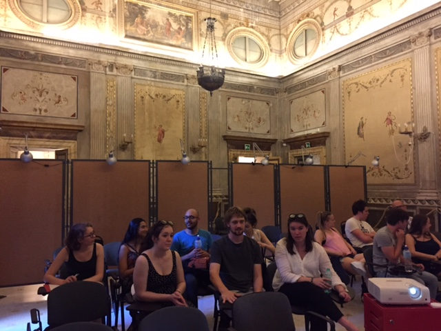 Palazzo Taverna, the Salon
